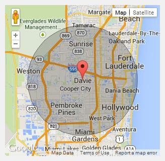 Davie Florida Map.Davie Fla Eric Grossmann Dds